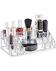 Makyaj Organizeri - Kozmetik Malzemesi Düzenleyici, -Takı Organizeri, Akrilik Malzeme, 16 Bölme