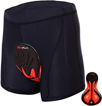 Pantalones Cortos de Ciclismo para Hombre con Acolchados en 3D y Bolsillos para Deporte al Aire Libre y Ciclismo Sportneer Pantalones Cortos de MTB Pantalones Cortos de Monta/ña