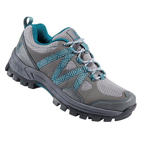 Image of Browning Women's Glenwood Water Proof Trail Shoe | Gargoyle/Dragonfly | Size 8.6