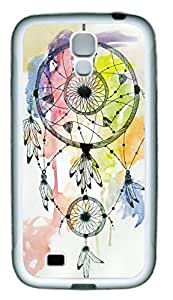 Dream Catcher Watercolor Painting Theme Samsung Galaxy S4 i9500 Case TPU Material WANGJING JINDA