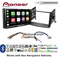Volunteer Audio Pioneer AVH-W4400NEX Double Din Radio Install Kit with Wireless Apple CarPlay, Android Auto, Bluetooth Fits 2010-2014 Subaru Legacy, Outback