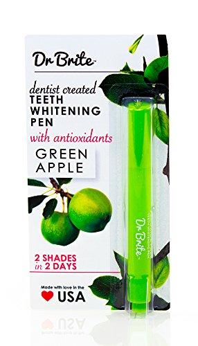 Dr. Brite Teeth Whitening Pen with Antioxidants, Green Ap...