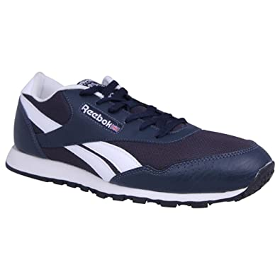 1e8368418bd Reebok Jogger Series Blue and White Color UK Running Shoes for Men  Buy  Online at Low Prices in India - Amazon.in