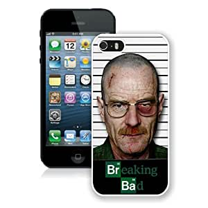 Case For iPhone 5 5S,BREAKING BAD White iPhone 5 5S Case Cover
