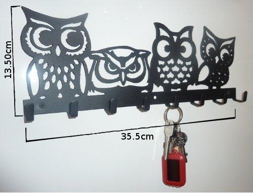 Home Decorators Key Wall Art ~ Stylish metal art decor wall mounted key hook hanger