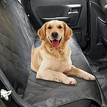 Backseat Dog Hammock >> Pet Dog Seat Cover Waterproof Car Backseat Covers Dog Hammock Non Slip Scratch Proof Rear Seat Cover Protector For Pets Fabric Polyester Bench Seat