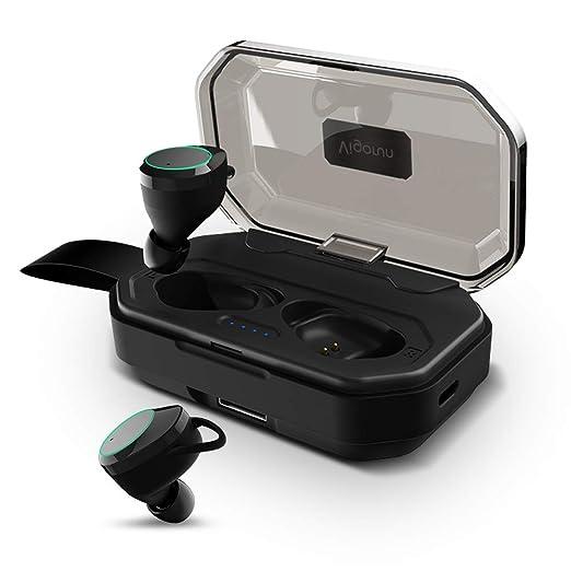 【タイムセール】【進化版Bluetooth5.0 130時間連続駆動 IPX7完全防水 】Bluetooth イヤホン 超大容量3500mAh Hi-Fi 高音質 完全ワイヤレス イヤホン Bluetooth5.0+EDR搭載 音量調整可能 3Dステレオサウンド CVC8.0ノイズキャンセリング 自動ペアリング ブルートゥース イヤホン 左右分離型 Siri対応 片耳&両耳とも対応 iPhone/ipad/Android適用