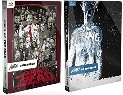 (Mondo Steelbook THE THING & SHAUN OF THE DEAD Exclusive Limited Edition Mondo Steelbook [Blu-ray])