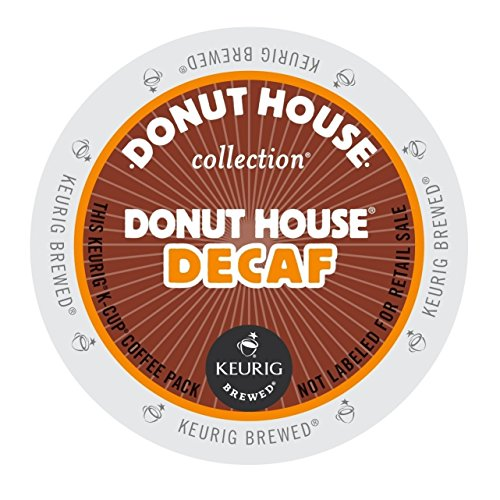 Donut House Collection, Donut House Decaf, K-Cup Portion Pack for Keurig K-Cup Brewers (Pack of (Timothys Breakfast Blend Coffee)