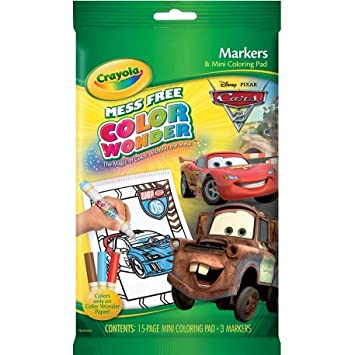 Amazoncom Crayola Color Wonder Mini Disney Cars Planes