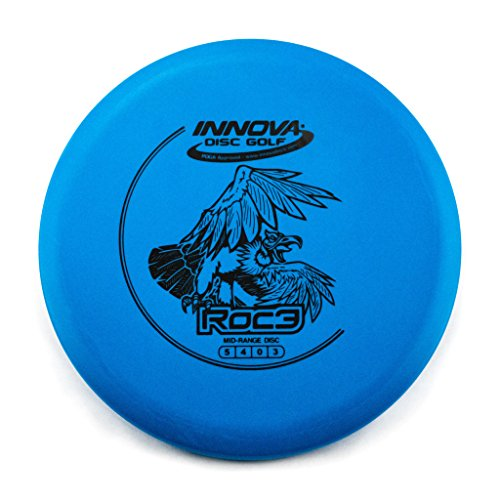 Innova DX Roc3 Mid-Range Golf Disc [Colors may vary] - - Mid Golf Disc Range Roc