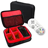 DURAGADGET Protective EVA Gadget Case (in Red) for 8Bitdo SF30/SN30 PRO Bluetooth Gamepads