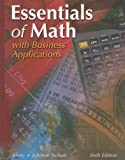Essentials of Math, C. George Alvey and Marceda Johnson Nelson, 0026434768