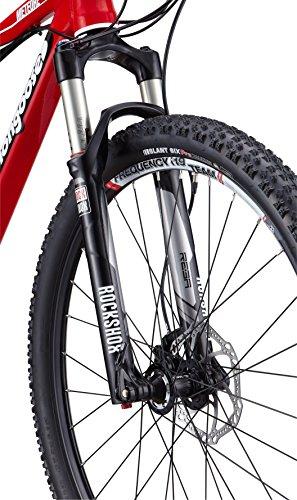 Mongoose Meteore Expert Mountain Bike, Red