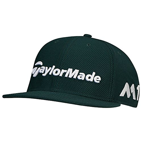 (TaylorMade Golf 2017 tour new era 9fifty hat green)
