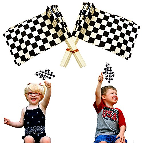 toy-cubby-adorable-little-plastic-checkered-racing-flags-36-pieces