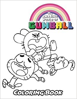 Amazon Com The Amazing World Of Gumball Coloring Book Coloring