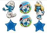 Smurf Smurfette Movie Birthday Party Balloons Decorations Supplies