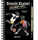 Kreativ-Kratzel Pocket Art: Fußball (Kreativ-Kratzelbuch)