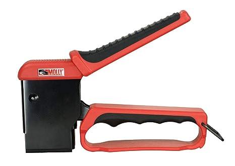 Molly M71921-XJ Valibox - Pinza para instalar tacos con 40 tacos, negro/