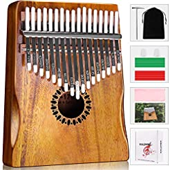 Kalimba Thumb Piano 17 Keys, Portable Mb...
