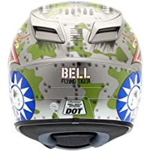 Bell Vortex Flying Tiger Helmet - X-Large/Silver by Bell