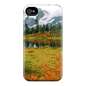 Premium [SxmlwFt1619ySuXv]autumn In Washington Case For Iphone 4/4s- Eco-friendly Packaging
