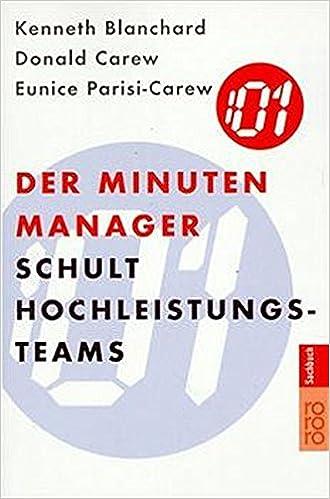 Cover des Buchs: Der Minuten Manager schult Hochleistungs-Teams