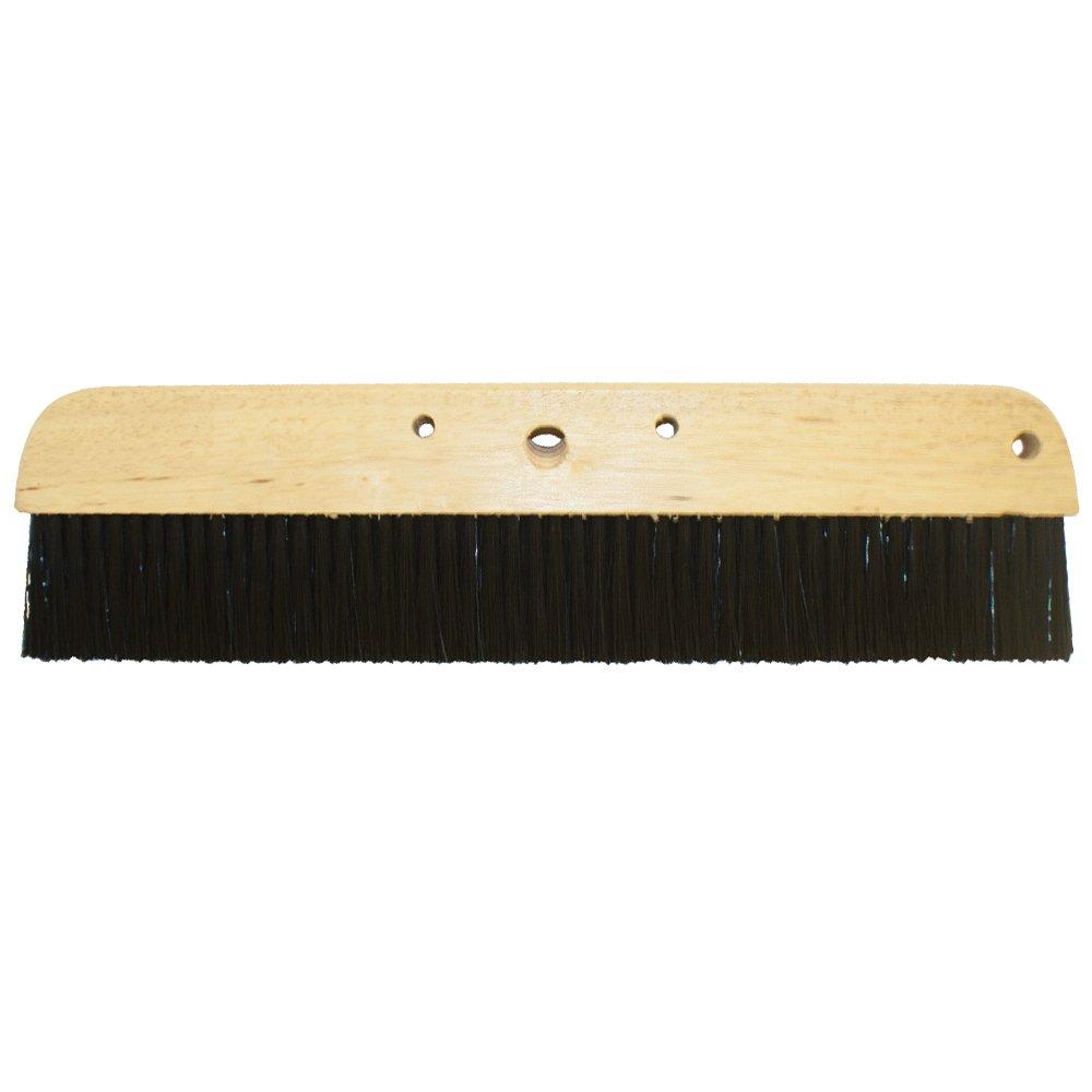 Kraft Tool CC165-01 Wood Concrete Broom, 24-Inch