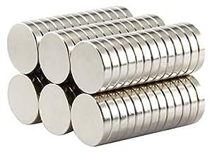 LOVIMAG Refrigerator Magnets, 10 x 2 mm, 100 piece