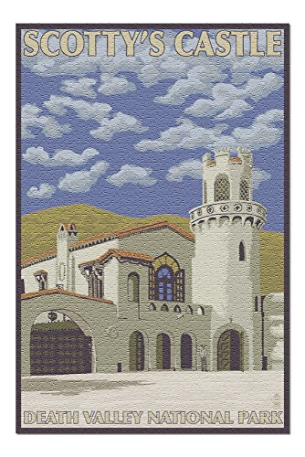 Death Valley, California- Scotty's Castle (20x30 Premium 1000 Piece Jigsaw Puzzle, Made in USA!)