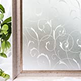 Window Film Static Privacy Decoration Self Adhesive For UV Blocking Heat Control Glass Stickers,23.6x78.7 Inches