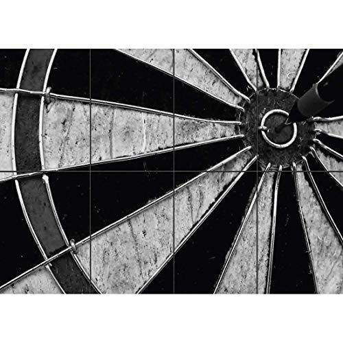 (DARTBOARD DARTS NEW GIANT POSTER WALL ART UNIQUE PRINT PICTURE G492)