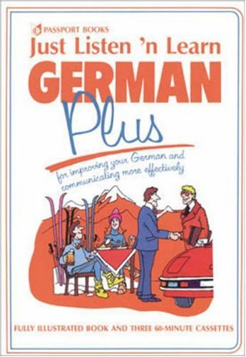 Just Listen 'N Learn German Plus