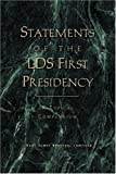 Statements of the LDS First Presidency, Gary James Bergera, 1560851953