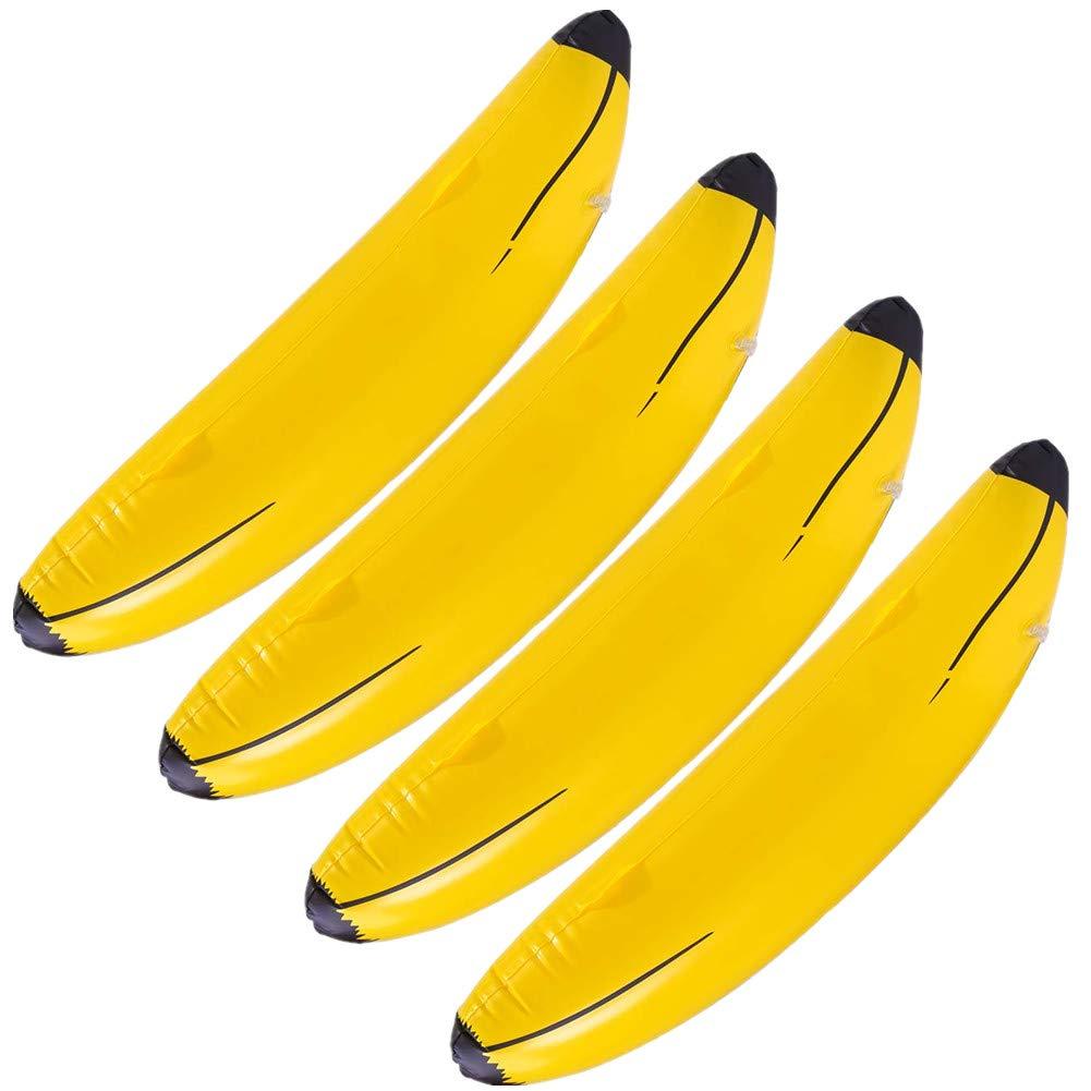 SEALEN Inflable Plátanos Juguetes para la Piscina, 68 cm ...
