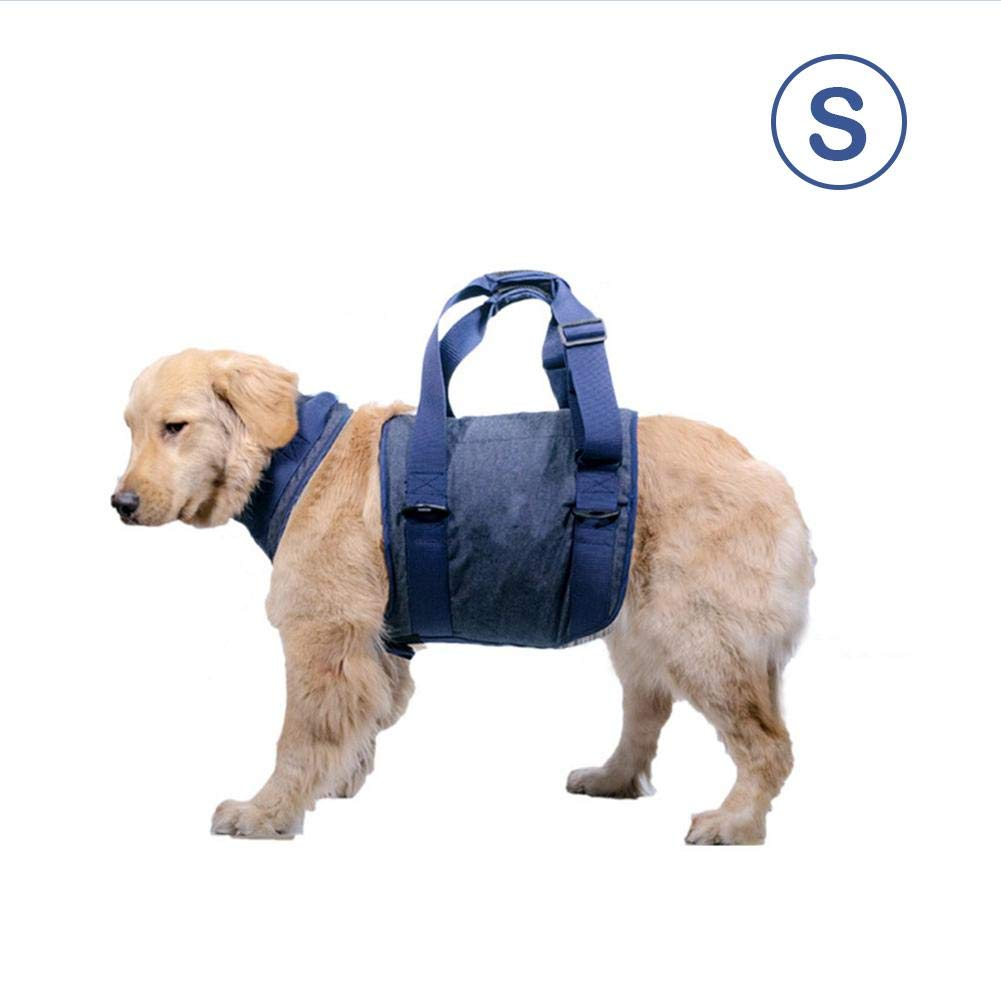 S blueeyouth Dog Lifting Harness,Pet Dog Lift Support Sling Auxiliary Belt for Injury Rehabilitation Elderly Dogs Safety Walking Pet Supplies