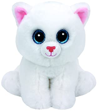 03f04332e07 TY Beanie Babies Plush - Pearl the Cat 15cm  Amazon.co.uk  Toys   Games