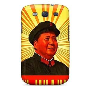 New SdDQbsF5643yBCib Chairman Mao Tpu Cover Case For Galaxy S3