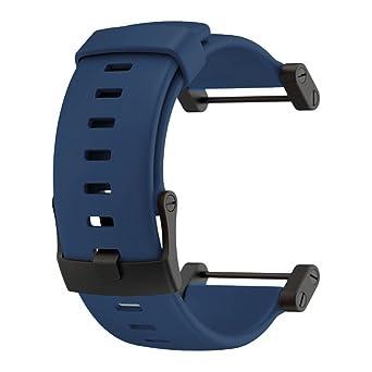 51abb7b49cb5 Suunto Core Accessory Strap Navy Blue One Size Rubber Band Black ...