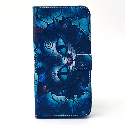 Crédit Pissenlit iphone Housse 6s Coque Avec Étui 6 Lanyard Iphone Supporter Portefeuille De Cover Flip Chat Coffeetreehouse Case Pour Visage Plus Pu Carte Wallet Cuir Plus Fentes Bleu Plus X1Px4qw