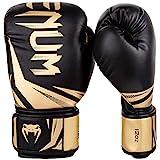 Venum Challenger 3.0 Boxing Gloves - black/Gold-12oz, Black/Gold, 12 oz