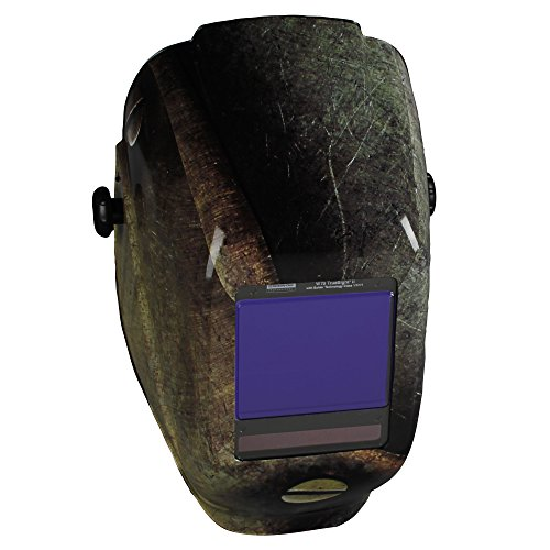 Jackson Safety TrueSight II Digital Auto Darkening Welding Helmet with Balder Technology (46120), W70 HLX ADF, Metal Style, 1 / (Best Welding Helmet With Truesight Digital)