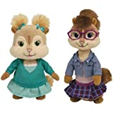 TY Alvin and the Chipmunks - Eleanor and Jeanette [Toy]