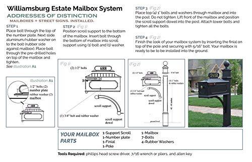 Addresses Of Distinction Williamsburg Estate Mailbox