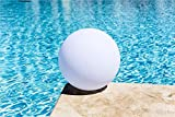 LED Ball Light, LOFTEK Shape Light, Rechargeable and Cordless Floating Light for Pool with 16 RGB Colors and Remote Control, 16-Inch Sphere