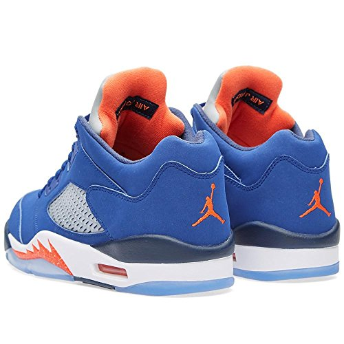 AIR JORDAN 5 RETRO LOW Herren Turnschuhe 819171-101 Blau