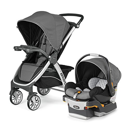 Chicco Bravo Trio Travel System, Orion (Travel System Car Seat Adapter)