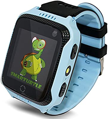 Smart Watch for Kids - Smart Watches for Boys Smartwatch GPS Tracker Watch Wrist Android Mobile Camera Cell Phone Best Gift for Girls Children boy ...