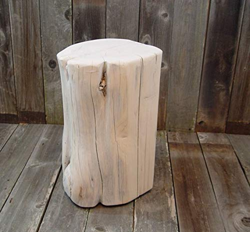 Tree Stump End Table - the best living room table for the money